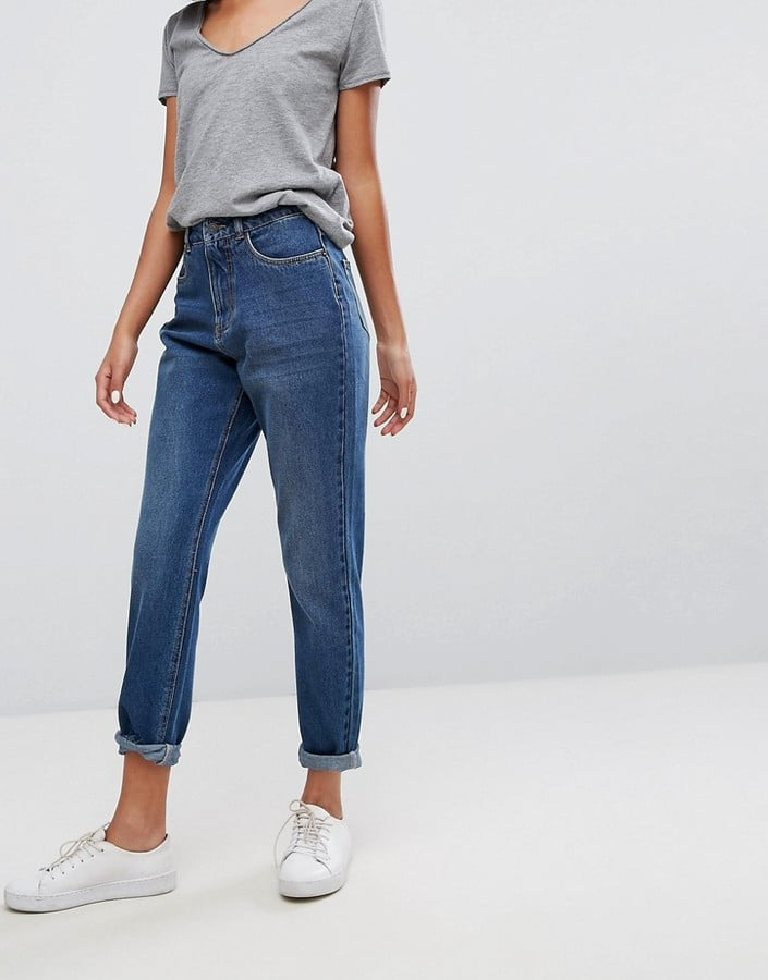 JDY High Waisted Mom Jeans   Best Blue Jeans 2018   POPSUGAR Fashion Photo 5
