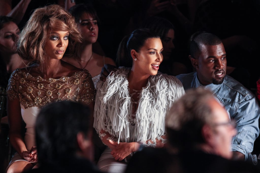 Bar and Stacy Check Out Marchesa's Spring Collection With Kanye and Kim
