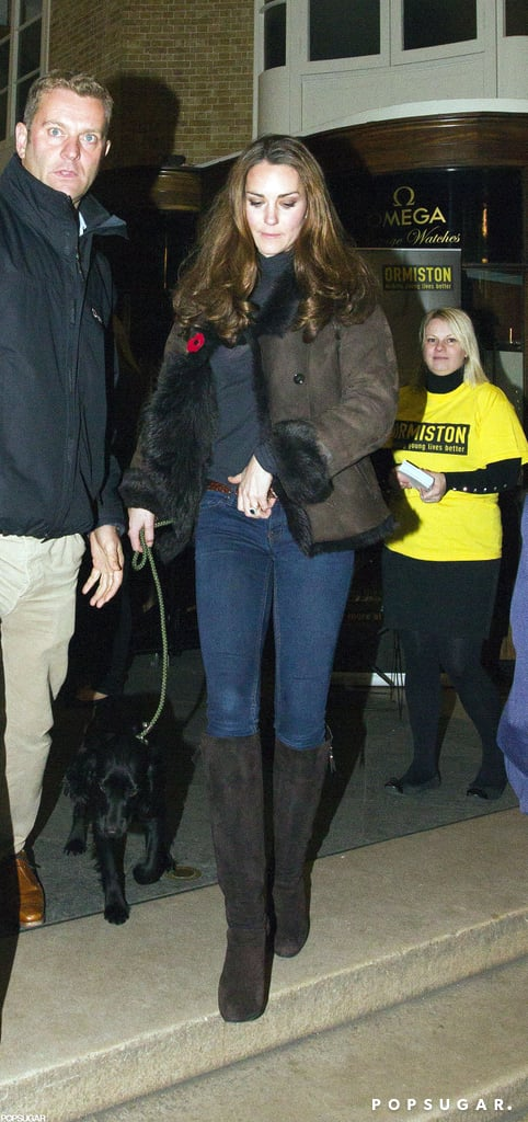 Kate Middleton went out in London to support a charity.
