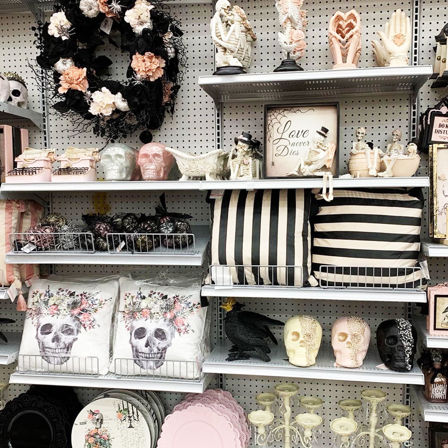 Vs Pink Halloween Collection 2020 See Michaels Pastel Goth Halloween Decorations | POPSUGAR Home