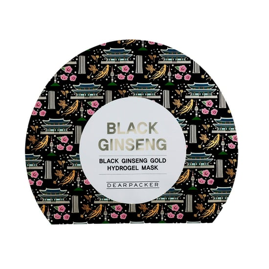 Dearpacker Black Ginseng Gold Hydrogel Mask Review