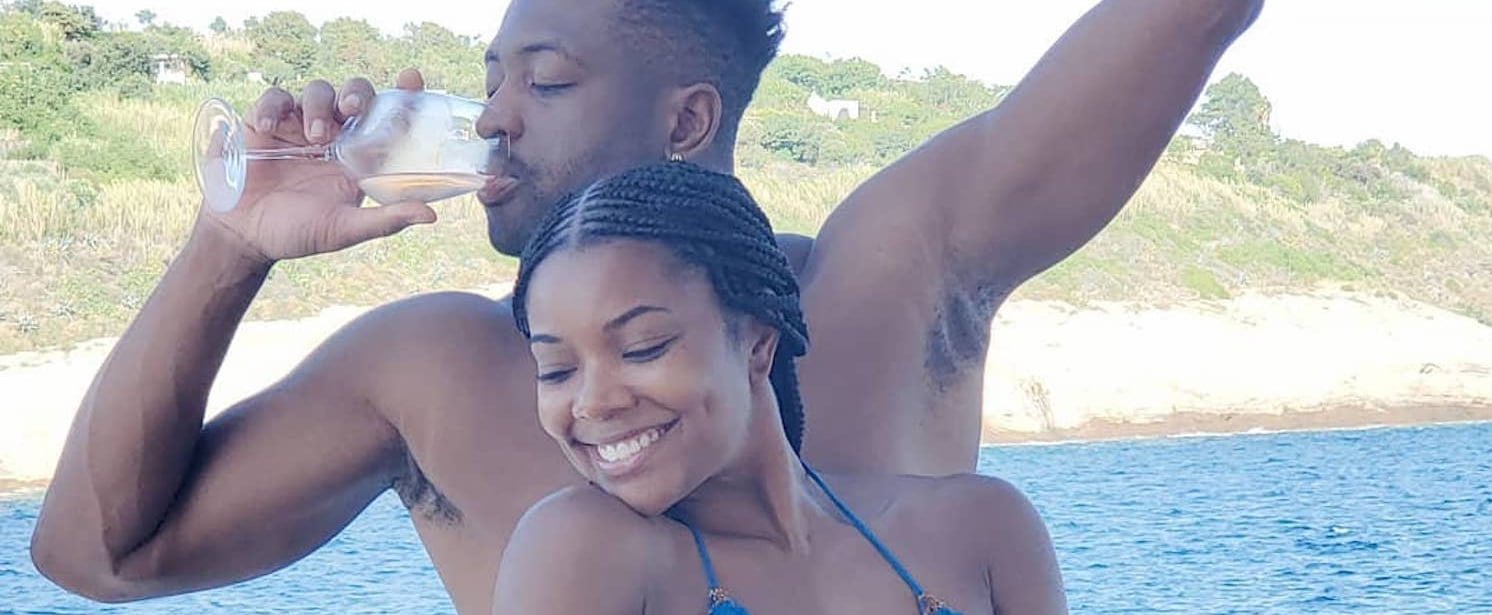 Gabrielle Union and Dwyane Wade Italy Vacation Photos 2019