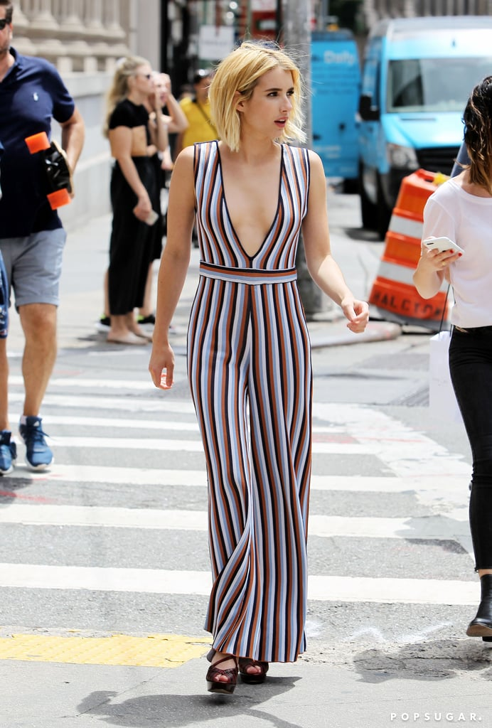 Emma Roberts in NYC Pictures July 2016