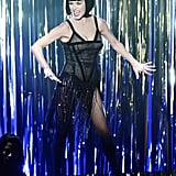 Catherine Zeta-Jones performed a number from Chicago.