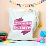 Library Book Bag ($13-$16)