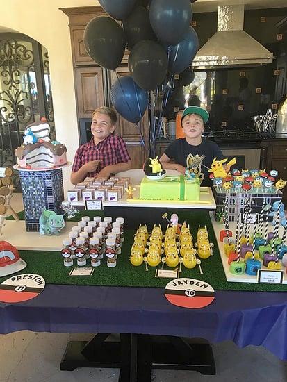 Happy Birthday, Jayden and Preston! Britney Spears Celebrates Her Sons with a Pokémon-Themed Bash