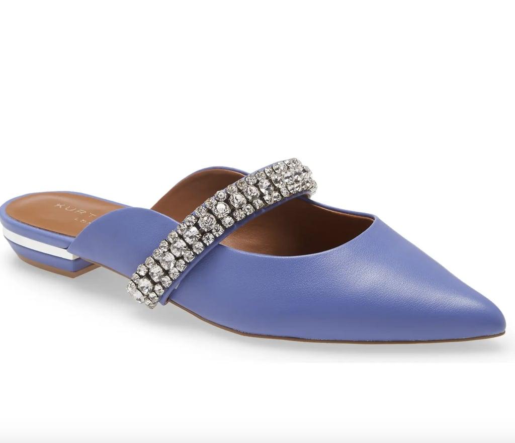 Some Embellishment: Kurt Geiger London Princely Crystal Embellished Mule