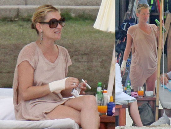 Photos of Kate Moss and Jamie Hince Vacationing in Thailand 2009-01-05 13:30:50