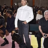 Regina King at the Prada Milan Fashion Week Show
