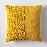 Multitextured Throw Pillow