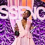 Lashana Lynch at the 2020 Essence Black Women in Hollywood Luncheon