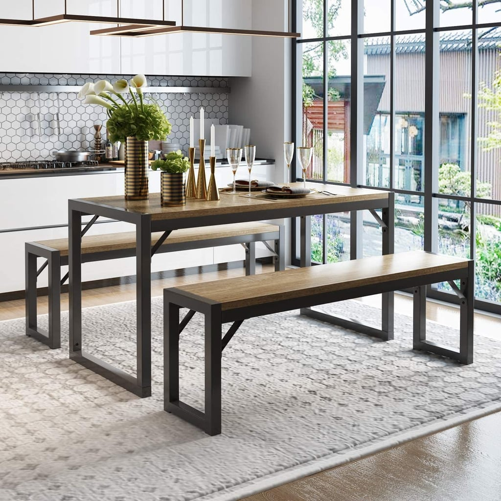 For a Multipurpose Set: Decok 3-Piece Dining Table Set
