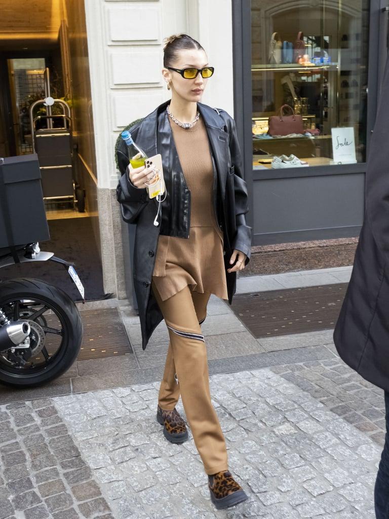 Bella Hadid at Milan Fashion Week 2020