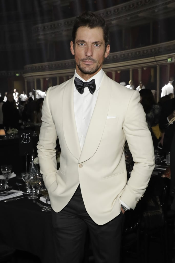 David Gandy at the British Fashion Awards 2019 in London