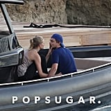 Leonardo DiCaprio and Toni Garrn got close in Spain.