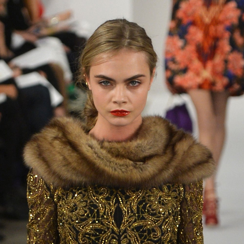 February 2013: Fall NYFW Fashion Week Oscar Del a Renta