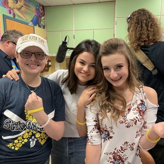 Selena Gomez Children's Hospital Visit in Missouri June 2019