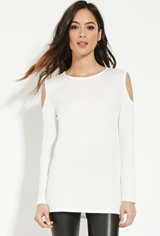 Forever 21 Longline Open-Shoulder Top ($15)