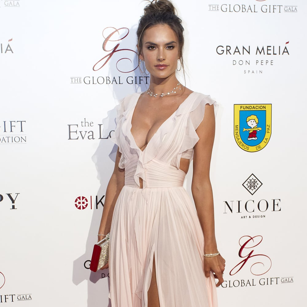 Alessandra Ambrosio\'s J. Mendel Gown at the Global Gift Gala ...