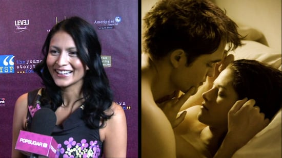 Video: Twilight's Tinsel Korey Talks About Breaking Dawn's Big Wedding Scene