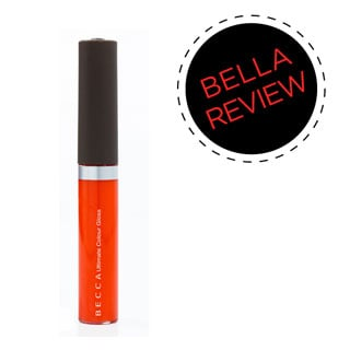 Product Review of Becca Cosmetics Ultimate Colour Lipgloss