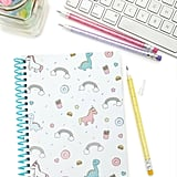 Unicorn Print Spiral Notebook