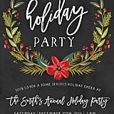 Winter Holiday Party Invitation