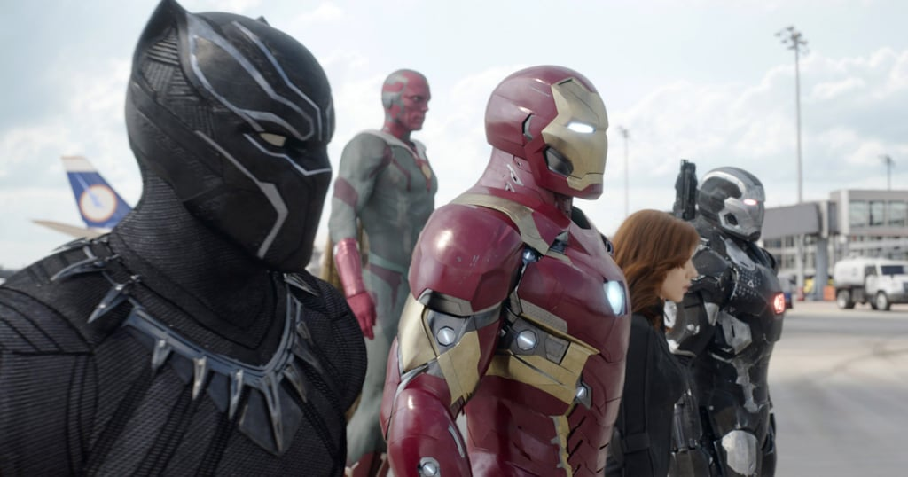 Team Iron Man From Captain America: Civil War