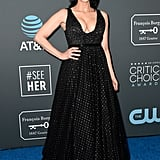 Sarah Silverman at the 2019 Critics' Choice Awards