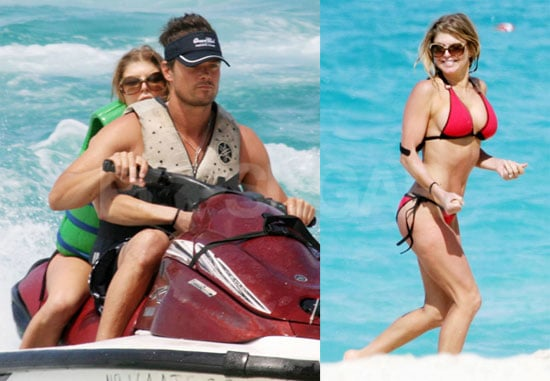 Fergie Shows Off Hot Josh and Hotter Bikini Body in Bahamas
