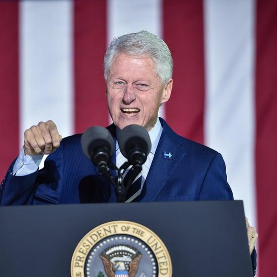 Bill Clinton's Clinton Center Bugged Tweet
