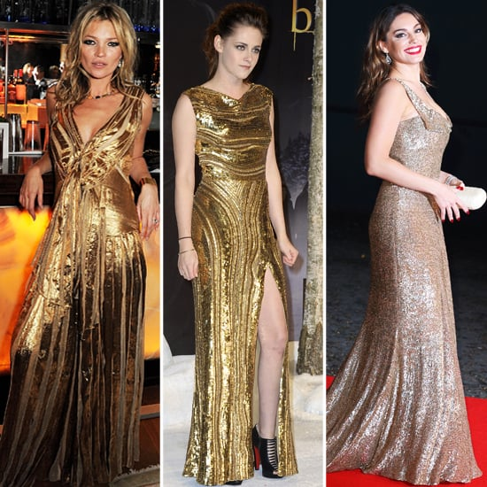 Les stars raffolent des robes dorées ! Et vous ?