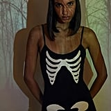 Skeleton Catsuit Halloween Costume