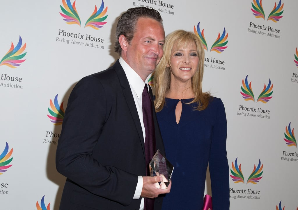 June 2015: Matthew Perry and Lisa Kudrow Appear at a Phoenix House Event