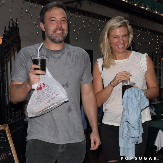 Ben Affleck and Lindsay Shookus Out in LA Together July 2017