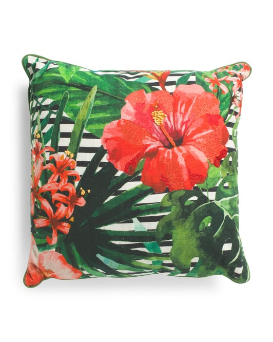 Made In India Bright Print Pillow