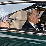 Prince Philip Steps Out With Queen Elizabeth II After Announcing His Retirement