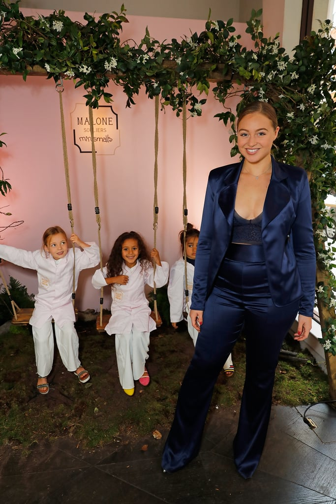 Wearing a Femme LA Suit With Malone Souliers Heels