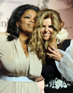 Pictures of Oprah Winfrey at Women's Conference