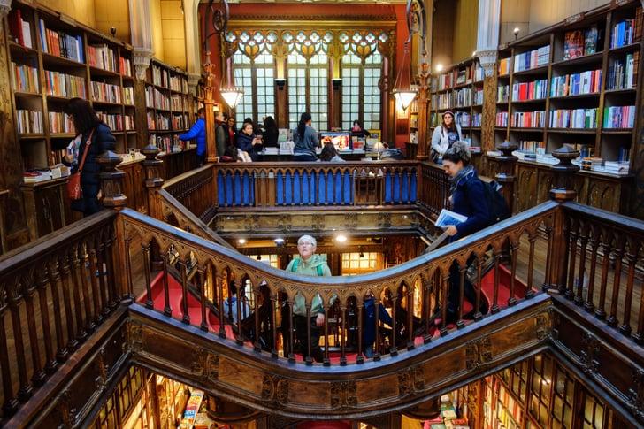Kết quả hình ảnh cho the Harry Potter bookstore portugal