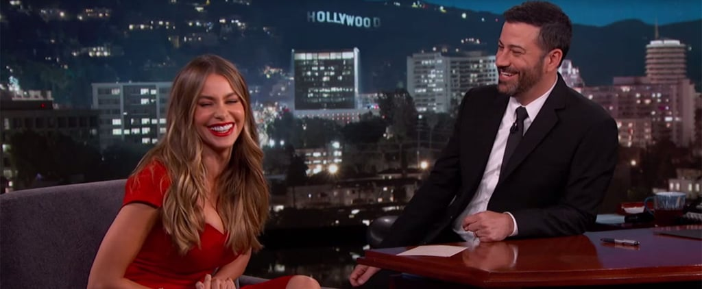 Sofia Vergara Talks Wedding Plans on Jimmy Kimmel Live