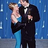 Patricia Arquette and Nicolas Cage, 1996