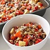 Red Pepper and Lentil Bake