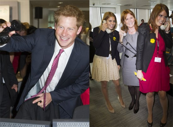 Prince Harry Breaks a World Record in the Presence of His Royal Cousins Princesses Beatrice and Eugenie
