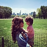 Nick and Vanessa Lachey Cute Family