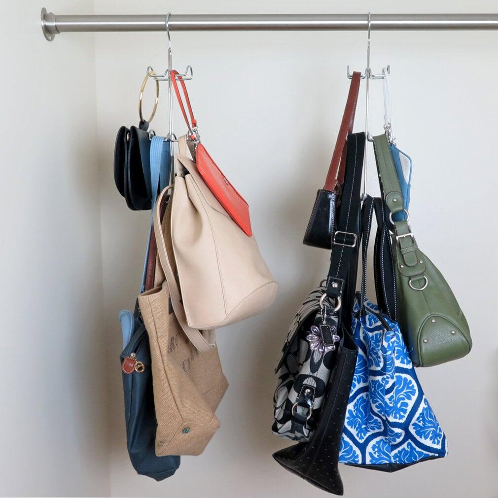 Seiler Purse Handbag Closet Hanging Organizer