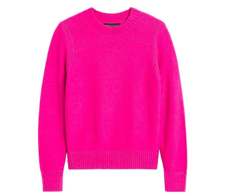 Supersoft Cotton Crew-Neck Sweater