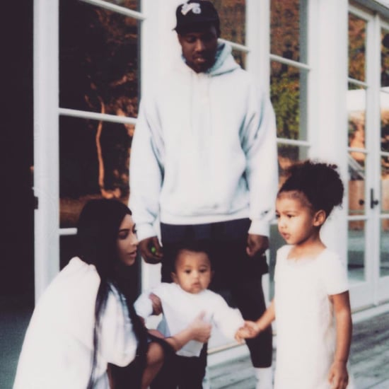 Kim Kardashian Family Instagram Picture January 2017