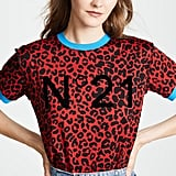 No. 21 Leopard No. 21 T-Shirt