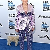 Glenn Close at the 2019 Independent Spirit Awards